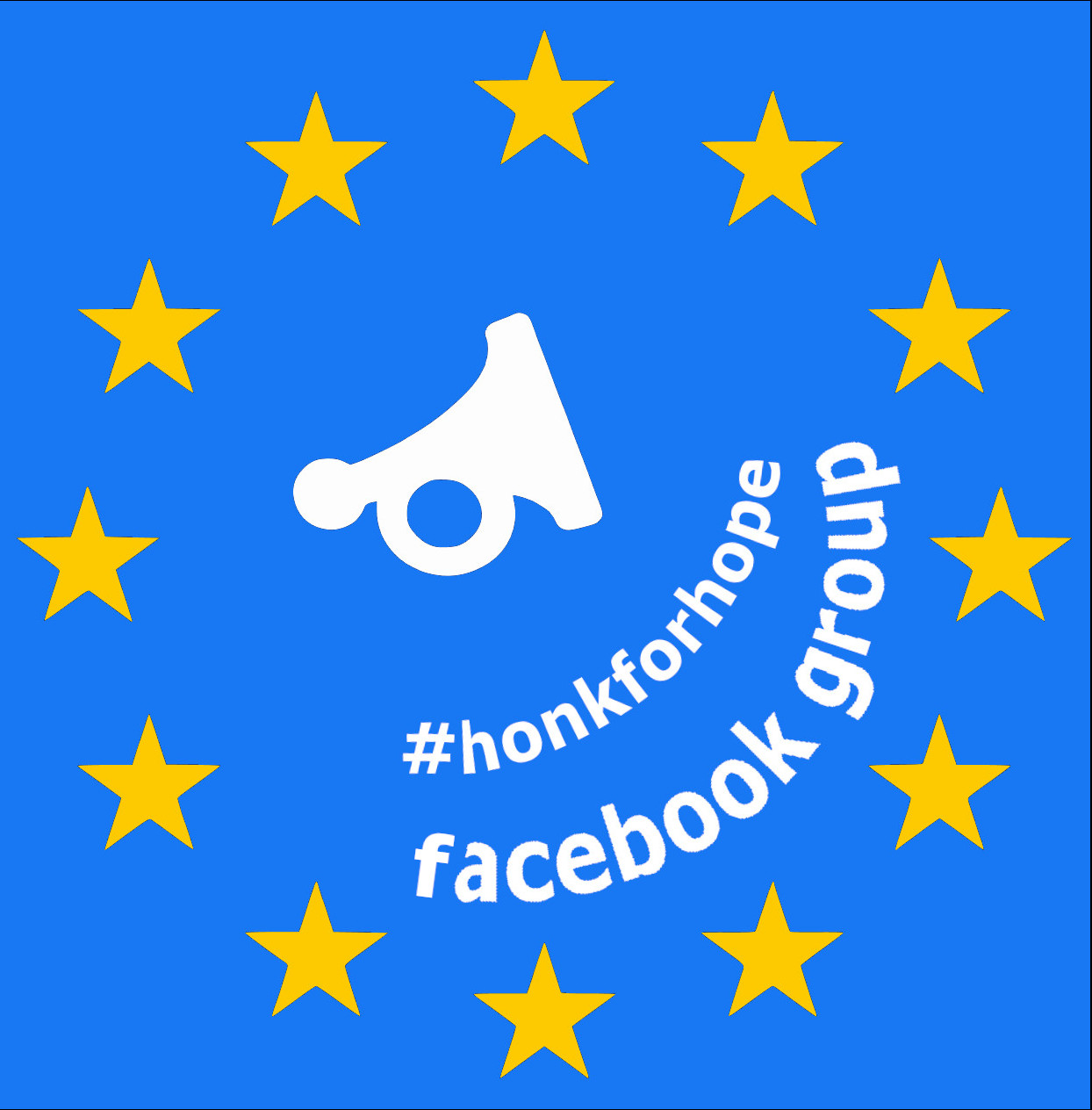 facebook group of motorcoach travel association #honkforhope